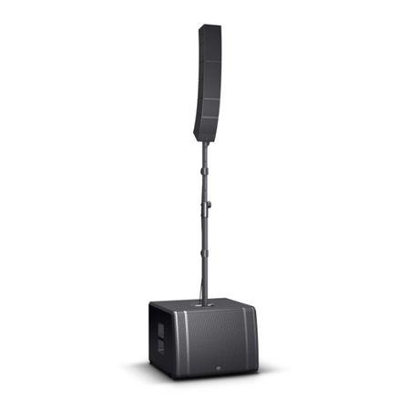 LD SYSTEMS CURV 500 TS system liniowy aktywne kolumny dla DJ set