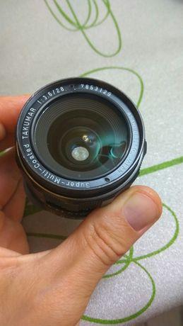 Super-multi-coated TAKUMAR 28mm f3.5