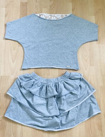 Komplet (bluzka i spódnica)