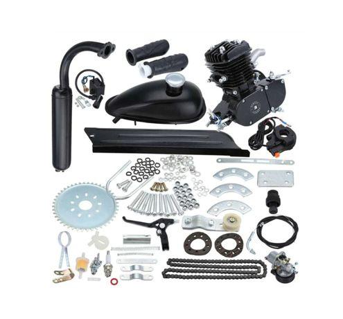 Kit de Motor Completo 80cc p/ Bicicleta - Preto