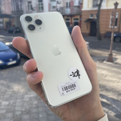 iPhone 11 Pro 64gb Silver Unlock/R-sim 90 днів гарантії!