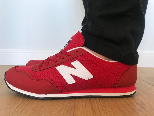New Balance 410. Rozmiar 46. Czerwone - Białe. NOWOŚĆ!