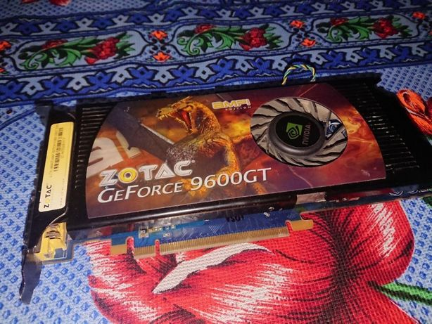 NVIDIA GeForce 9600 GT 512gb