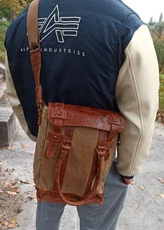 Мужская сумка Greenburry(Германия) barbour filson campomaggi belstaff