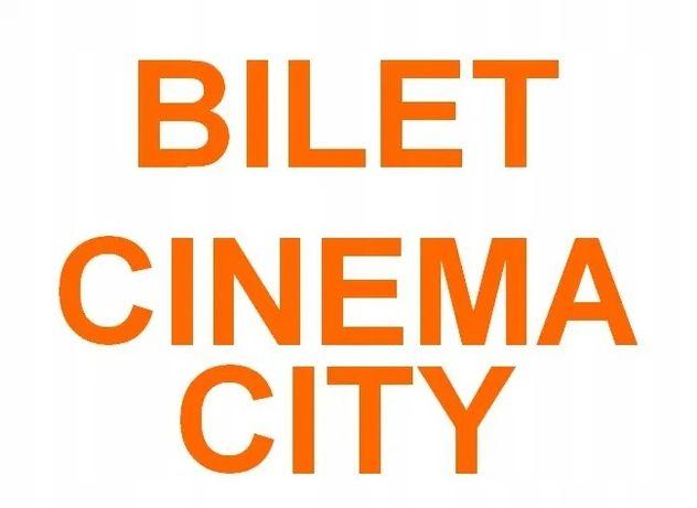 Bilety (kody) do Cinema City na seans 2D ważny cały tydzień