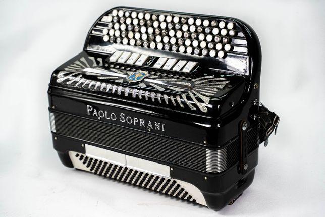 Akordeon Paolo Soprani 120b Musette, BDB