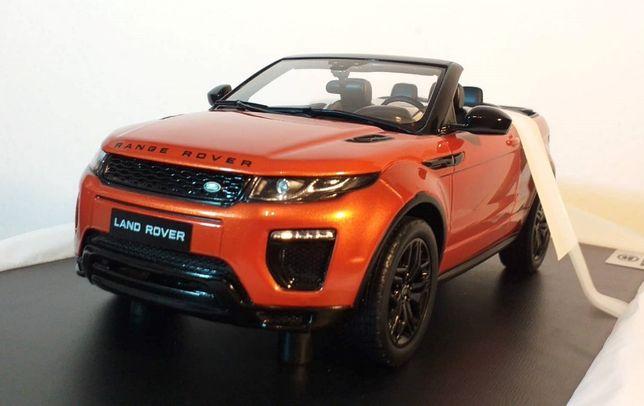 1/18 Range Rover Evoque Convertible - Top Speed