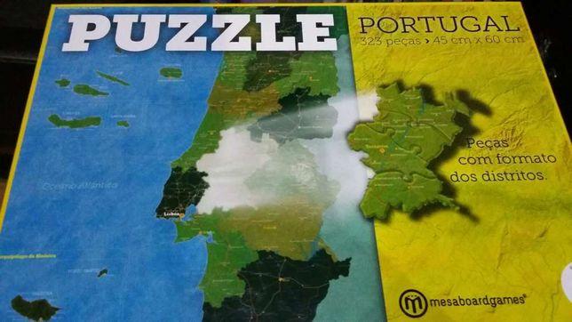 Puzzle de Portugal