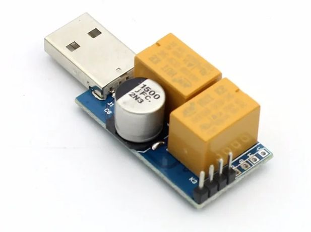 9USB WATCHDOG сторожовий таймер + Райзери 4pin PCI-E molex Riser Нові
