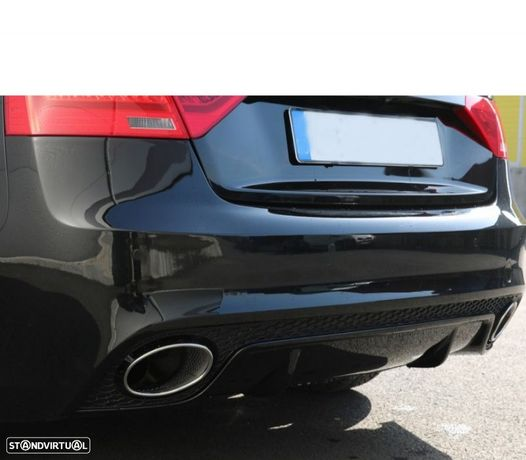 PARA-CHOQUES TRASEIRO AUDI A5 8T COUPE LOOK RS5 2007-2015
