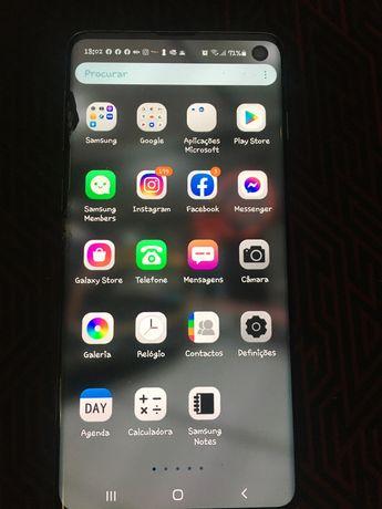 Samsung S10 Ecrã partido