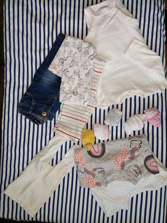 Ubranka dla dziewczynki 3-6msc