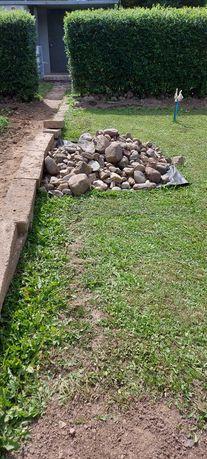 Kamienie głazy/oczko wodne /ogród ZA DARMO