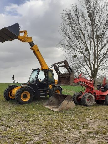 Usługi budowlane, rolnicze ładowarka