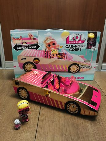 L.O.L.Surprise Car-Pool Coupe with Exclusive Doll Лол кабриолет