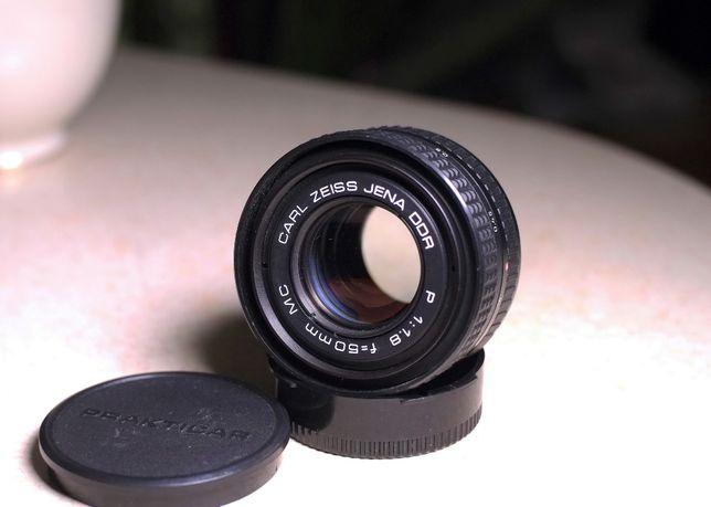 Zeiss Jena Prakticar(Pancolar) MC f1,8 50mm PB для Sony Е Fuji X m4/3