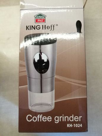 Ręczny młynek do mielenia kawy King Hoff