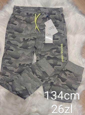 spodnie 134cm chlopiec