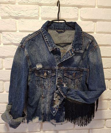 modna kurteczka jeans M 40zł