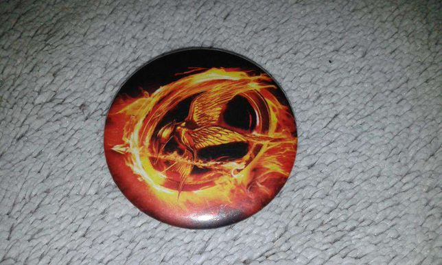Przypinka The Hunger Games - Igrzyska Śmierci