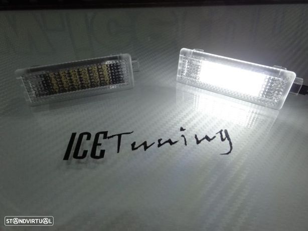 Luz de cortesia, luz interior para portas em Led / Luz branca BMW E83/X3 F25/E70/E71/Z4 E85/E86