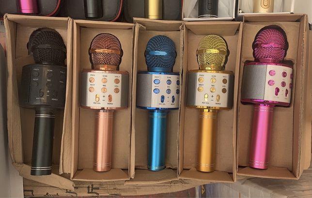Микрофон блютуз караоке