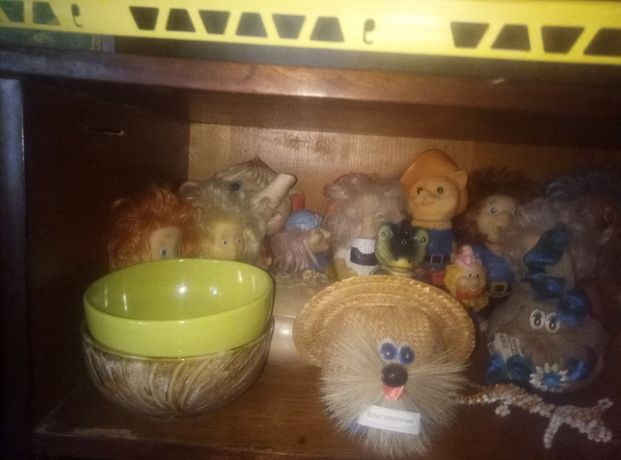 Резиновые игрушки СССР колекция