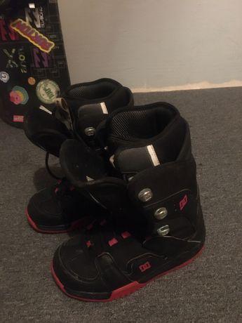 Buty snowboardowe w rozmiarze 24,5