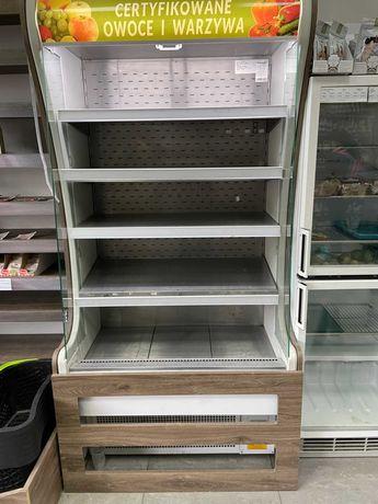 Regał chłodzący otwarty - lodówka sklepowa - witryna chłodnicza