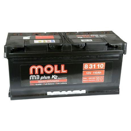 Akumulator Moll M3 plus K2 110Ah 900A