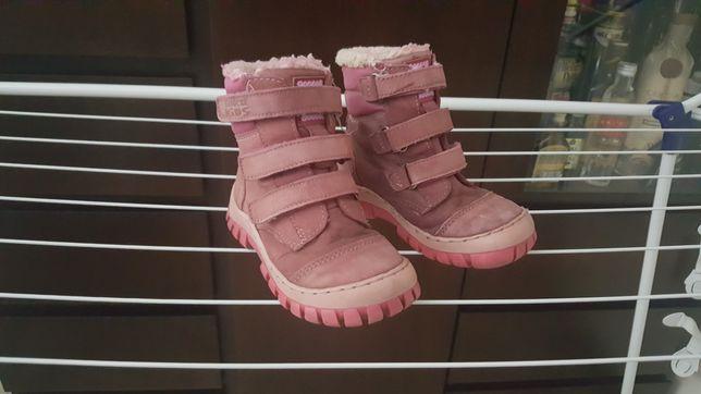 Zimowe buty dla dziewczynki lasocki 24