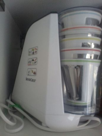 Robot kuchenny silver crest i szatkownica do warzyw i owoców