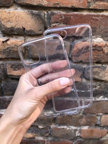 Чехол прозрачный силиконовый на IPhone 6/7/8/X/Xr/max/s/11 pro + айфон