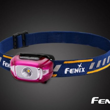 Latarka diodowa Fenix HL15 - czołówka różowa 109zł