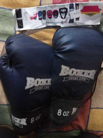 Перчатки боксерские BOXER 8oz