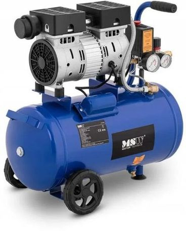Безмасляный компрессор MSW Motor Technics : 24 л.   180 л\мин