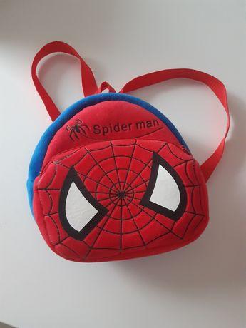 Plecak spiderman czerwony do szkoły , przedszkola