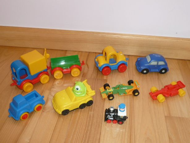 Samochodziki Wader Kid Cars i inne. Jak Nowe!