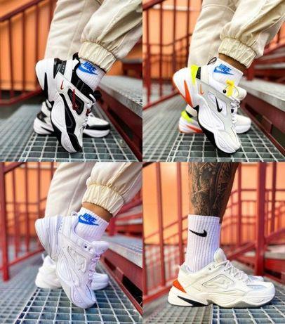 Кроссовки Nike M2K Tekno 36-45 Киев! Хит Осени! Кожа! Наложка! Топ