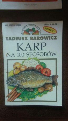 Karp na 100 sposobów Boże narodzenie Tadeusz Borowicz