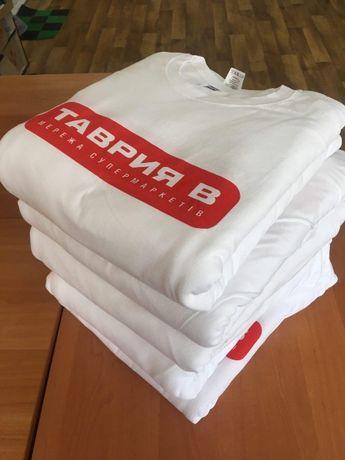 Печать на футболках 10, 20, 50, 1000 шт
