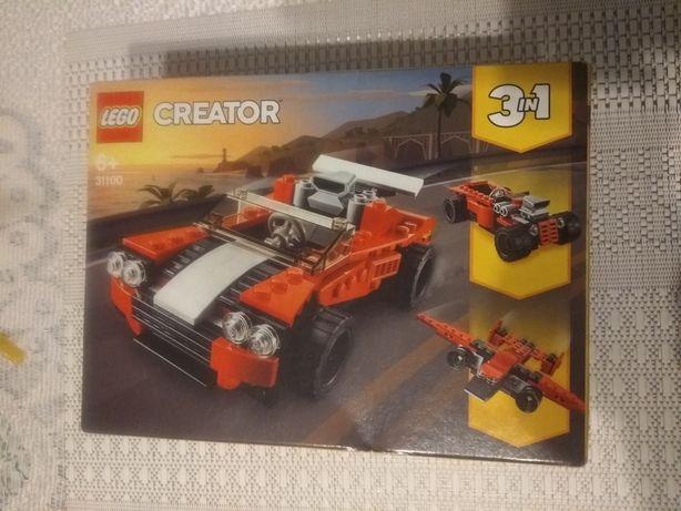 LEGO Creator 3w1 Samochód sportowy 31100 nowe