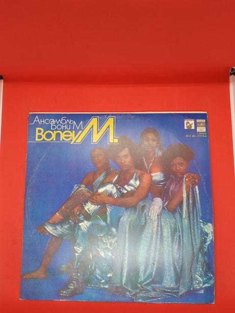 Бони М BoneyM Boney M виниловая пластинка времен ссср