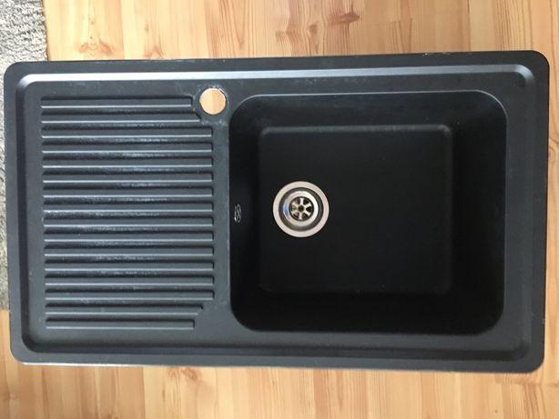Zlewozmywak Czarny Carea Sanitaire 860x500