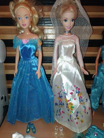 Одежда платья туфли комплект для куклы Золушка