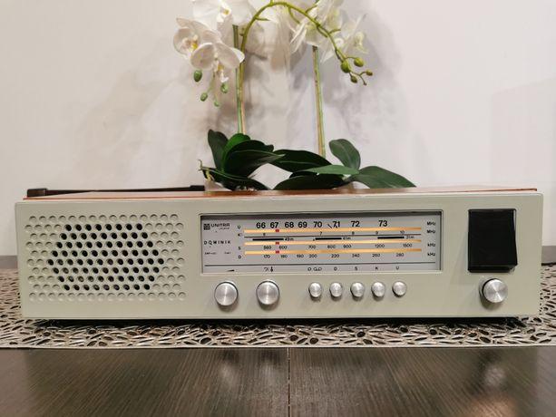 Radio Unitra Diora Dominik DMP-203 Nowy UKF* Sprawny* SZARY*1977r FILM