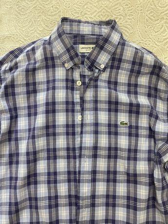 Мужская рубашка lacoste оригинал