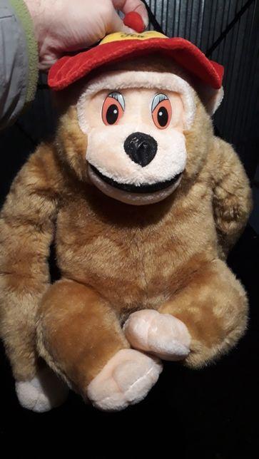Pluszak zabawka małpka pluszowa małpiszon