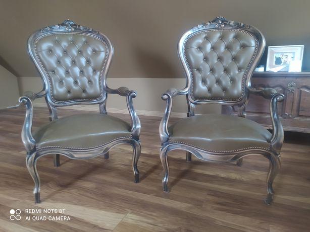 Piękne fotele Ludwik