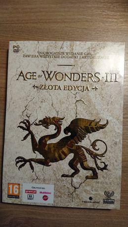 Gra Age Wonders III. Złota edycja